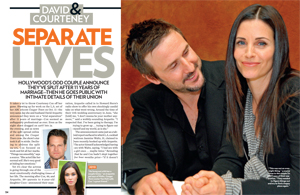David & Courteney: Separate Lives