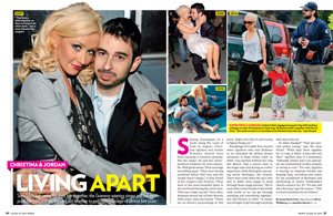 Christina & Jordan: Living Apart