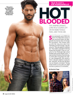 True Blood's Joe Manganiello: Hot Blooded