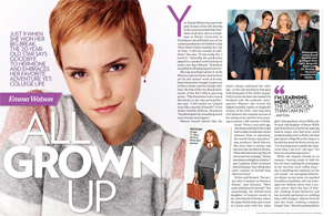 Emma Watson: All Grown Up