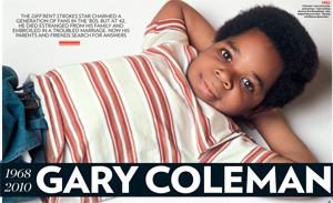 Gary Coleman 1968-2010