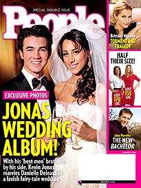 Kevin Jonas Says 'I Do'
