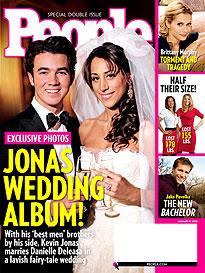 Kevin Jonas Says 'I Do'