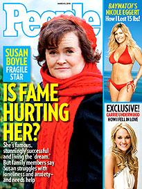 Susan Boyle Alone in the Spotlight