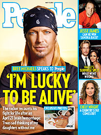 Bret Michaels: 'I'm So Thankful to Be Alive'