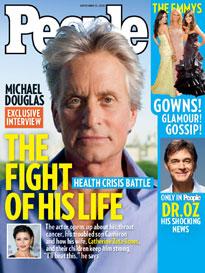 Michael Douglas: 'I'll Beat This'