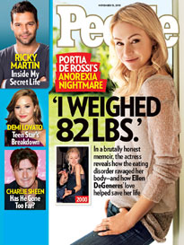 Portia De Rossi&#39;s Anorexia Battle: Lucky to Be Alive