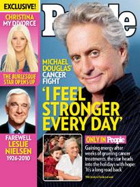 Michael Douglas: 'I Feel Stronger Every Day'