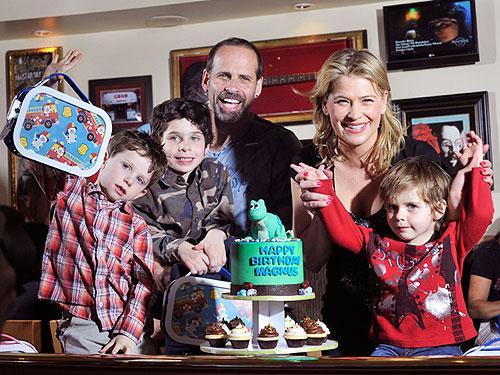 Kristy Swanson Amp Lloyd Eisler S Son Turns Three Moms