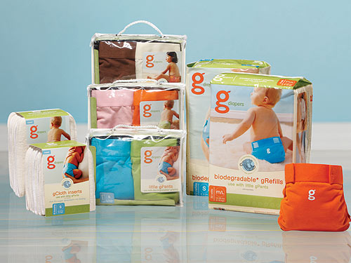 gdiaper3 500 Biodegradable Disposable Diapers: Convenience to Save the Planet