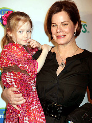 Marcia Gay Harden Gives Her Little Lady a Lift