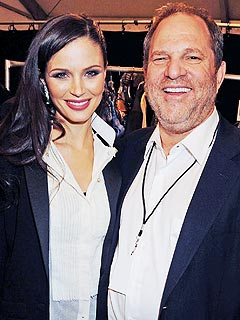 Harvey Weinstein, Georgina Chapman Welcome Son