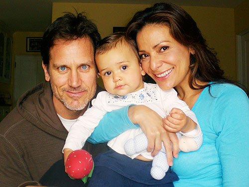 Constance Marie and her husband