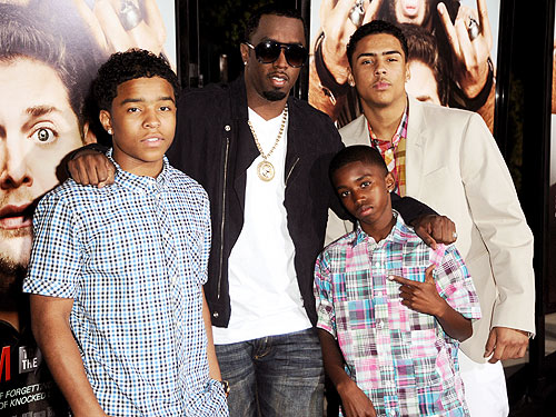P Diddy Sons