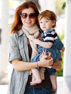 alyson hannigan child. Alyson Hannigan carried