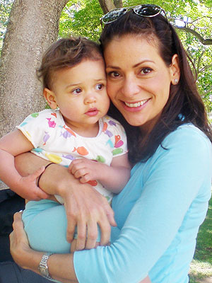 Constance Marie baby