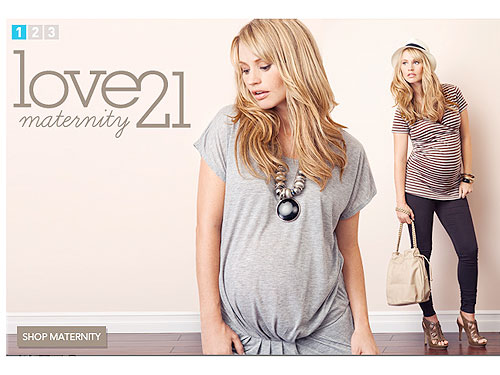 Attention Bargain Shoppers! Forever 21 Launches Maternity – Moms ...
