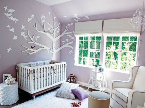 Beautiful Baby Nurseries tiffani thiessen gives us a sneak peek at harper's nursery – moms