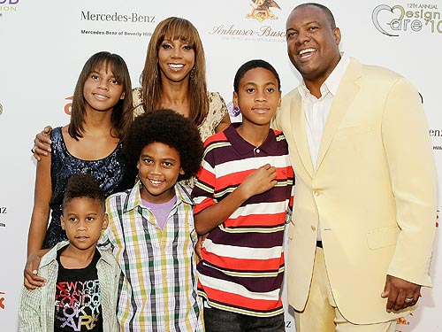 Noel VasquezGetty Holly Robinson Peete Family