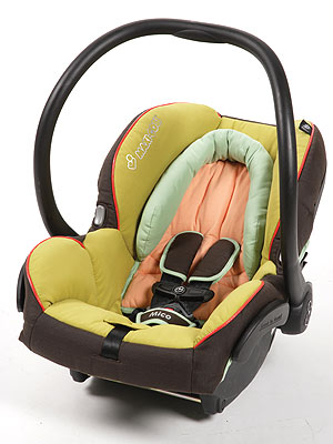 Review: Maxi-Cosi Mico Infant Car Seat – Moms & Babies – Celebrity ...