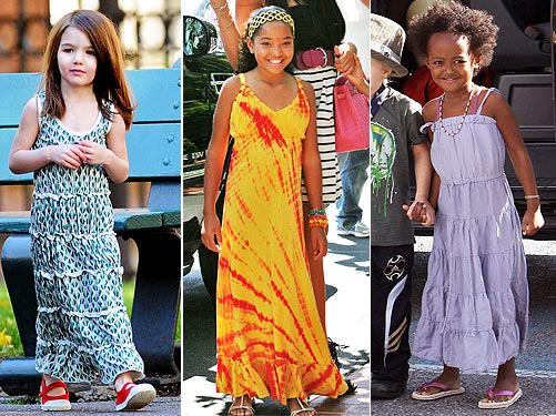 1 Trend, 3 Ways: Mini Maxi Dresses – Moms & Babies – Celebrity ...