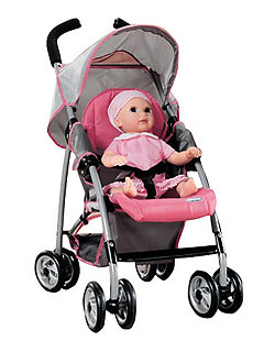1 Trend 3 Ways Fun Doll Strollers Moms Amp Babies