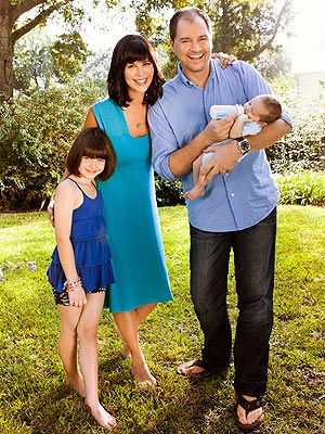 Catherine Bell Introduces Son Ronan – Moms & Babies ...