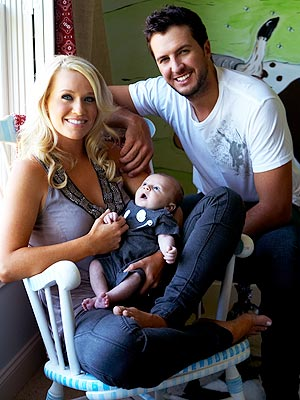 Like many new parents, Luke Bryan and wife Caroline were more than a