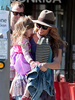 Photo of Toni Collette & her Daughter  Sage Florence Galafassi