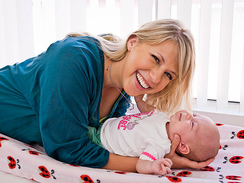 jodie sweetin daughter beatrice. Jodie Sweetin Introduces