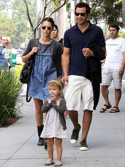 FAMILY DAY photo | Cash Warren, Honor Warren, Jessica Alba