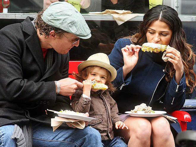 GRUB BUDS photo | Camila Alves, Matthew McConaughey
