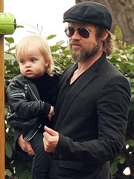 DADDY'S GIRL photo | Brad Pitt