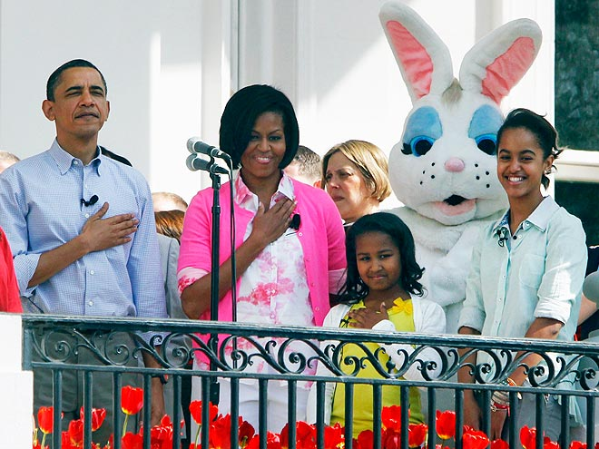 FUNNY BUNNY  photo | Barack Obama, Michelle Obama