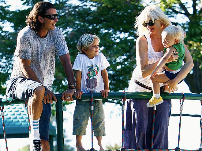 GAVIN, GWEN, KINGSTON & ZUMA photo | Gwen Stefani