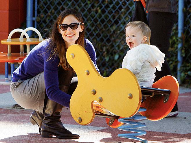 JENNIFER & SERAPHINA photo | Jennifer Garner
