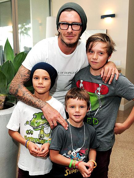 BOYS' CLUB   photo | David Beckham