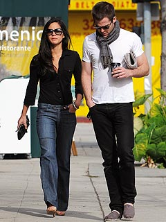 Couples Watch: Chris Pine & Olivia Munn Get Flirty