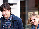 Drew & Justin Enjoy Sandwiches – and Hugs! – at a Deli | Drew Barrymore, Justin Long