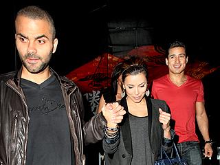 Eva & Tony's Double Dinner Date with Mario Lopez | Eva Longoria, Mario Lopez, Tony Parker