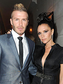 Couples Watch: Posh & Becks Party at L.A.'s Sunset Marquis Hotel