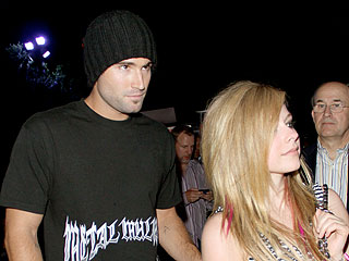 Avril & Brody's PDA Session at a Burlesque Show | Avril Lavigne, Brody Jenner