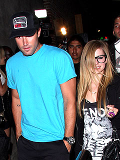 Avril Lavigne & Brody Jenner's Steak and Seafood Dinner in Canada | Avril Lavigne, Brody Jenner
