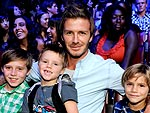 David Beckham's Boys-Only Weekend | David Beckham