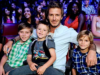 David Beckham's Boys-Only Weekend