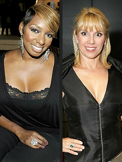 Housewives Nene Leakes &#38; Ramona Singer Gossip over White Wine