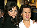 Tom & Katie's 'Romantic' Poolside Party | Katie Holmes, Tom Cruise