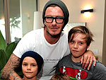 Posh & Becks Take Their Boys to Justin Bieber's Concert | David Beckham