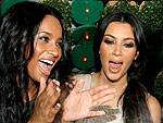 Kim Kardashian Throws Ciara a Surprise Birthday Bash | Ciara, Kim Kardashian