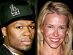 Chelsea Handler & 50 Cent's Good-Humored Brunch Date | 50 Cent, Chelsea Handler
